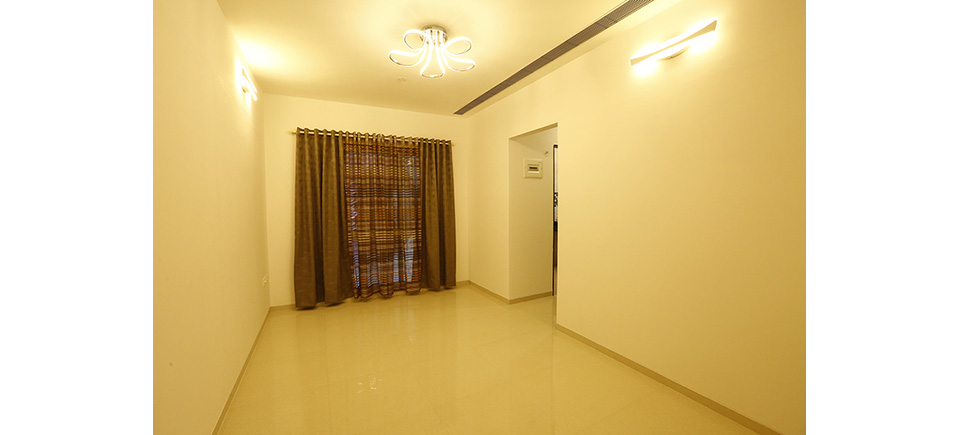 Orbit 1BHK Living Room