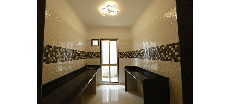 Orbit 2BHK Kitchen