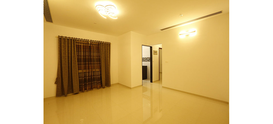 Orbit 2BHK Living Room