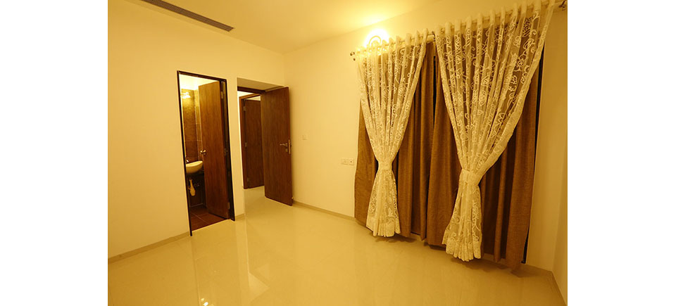 Orbit 2BHK Master Bedroom